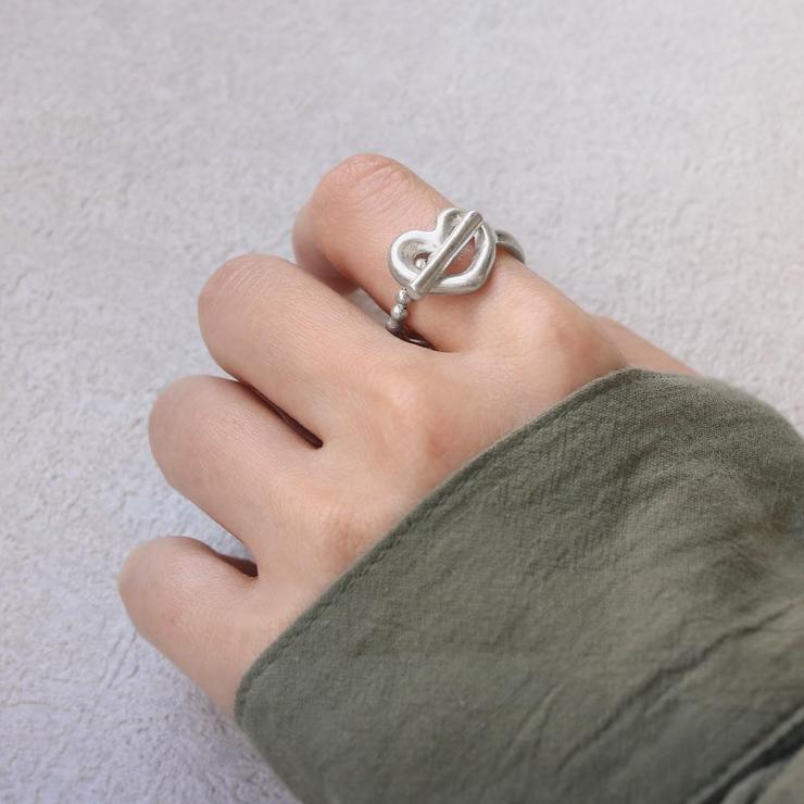 リングニッケルフリーメタルマンテルハート12号指輪 | 詳細画像