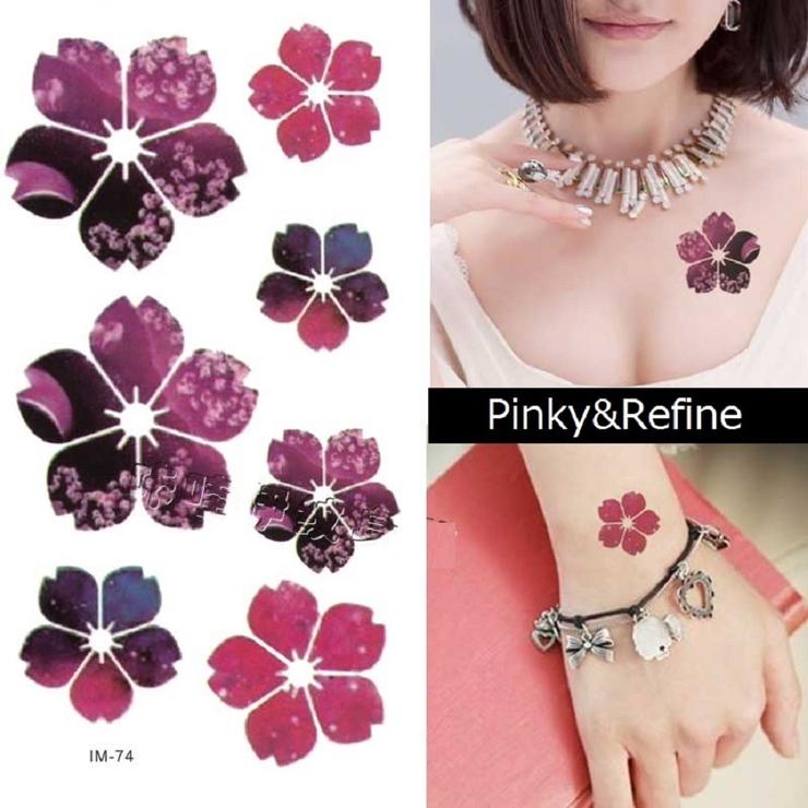 鮮やか桜の花 ピンク ボディシール | Pinky&Refine | 詳細画像1