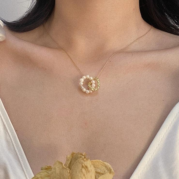 ネックレス 首飾り アクセサリー | PlusNao | 詳細画像1