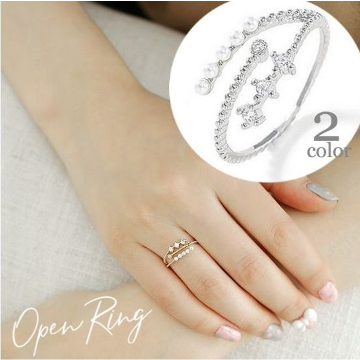 指輪 リング フリーサイズ   PlusNao   詳細画像1