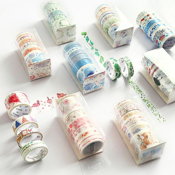マスキングテープセット 9個セット 紙テープ | PlusNao | 詳細画像1