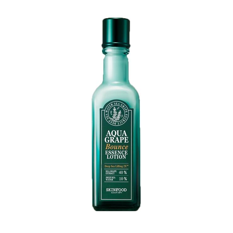 スキンフードフェイスマスクフェイスパックコラーゲン乳液ローションアクアグレープバウンスエッセンスローション(乳液)SKINFOOD3000円以上   詳細画像