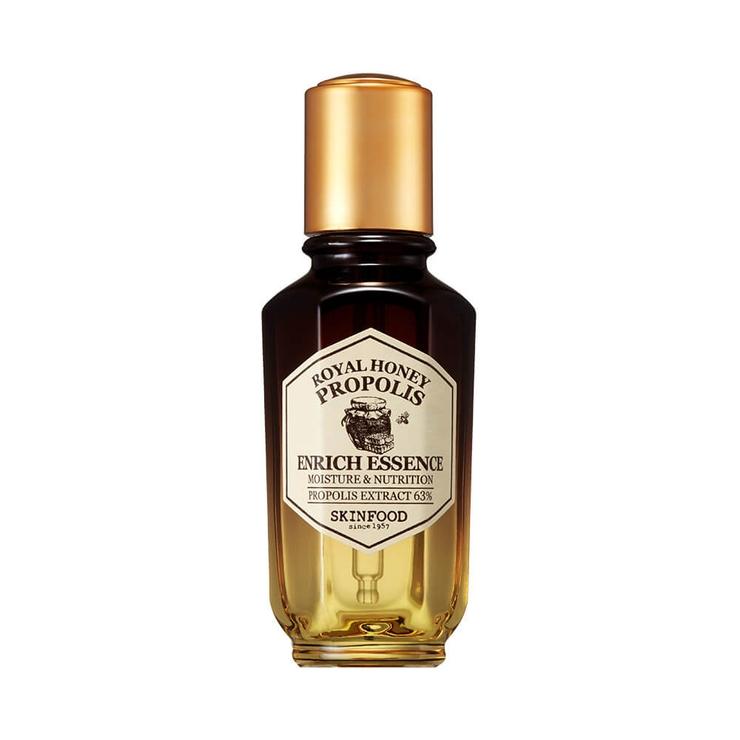スキンフードロイヤルハニープロポリスエンリッチエッセンス 成熟プロポリス蜂蜜はちみつ潤いしっとりなめらか SKINFOOD3000円以上   詳細画像