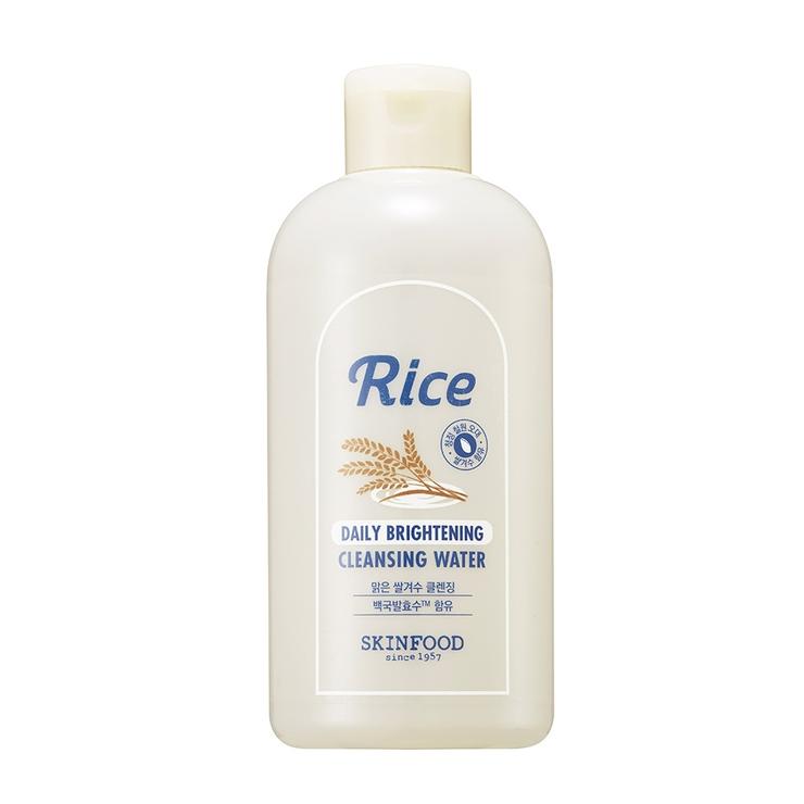 スキンフードライスデイリーブライトニングクレンジングウォーター|米ぬかのチカラで、輝く白米肌へ洗うブライトニング!|SKINFOOD3000円以上 | 詳細画像