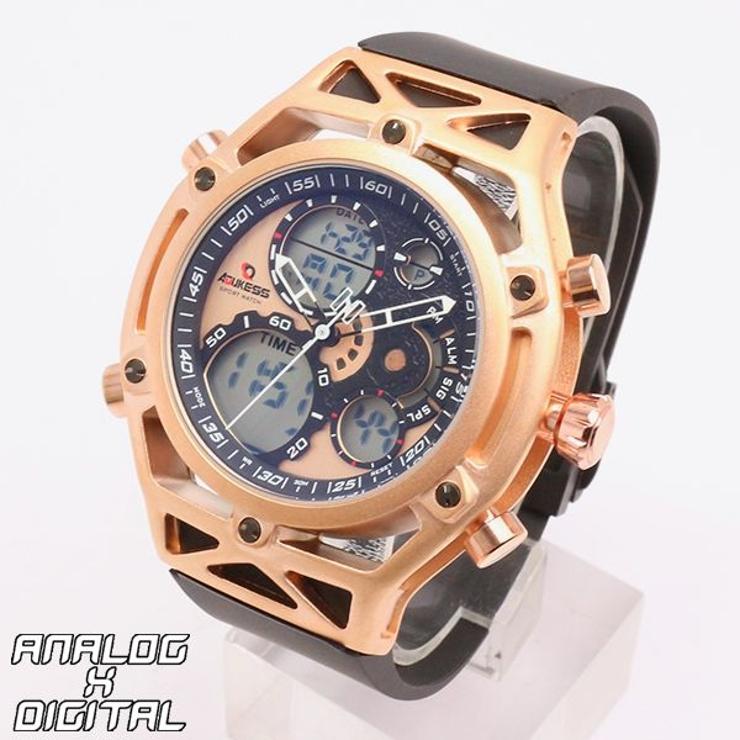 デュアルタイム アナデジ腕時計 HPFS9520   腕時計アパレル雑貨小物のSP   詳細画像1