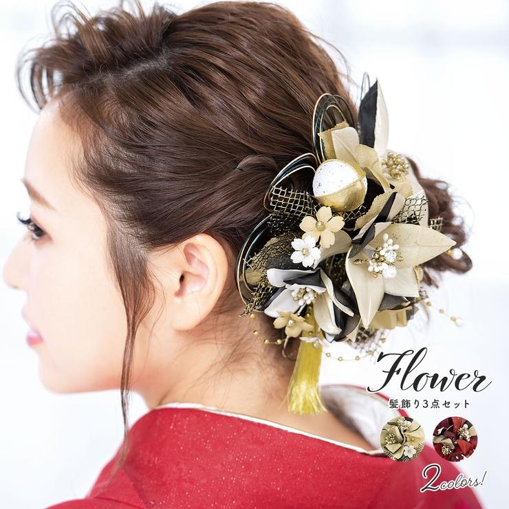 髪飾り 成人式 3点セット | SOUBIEN | 詳細画像1