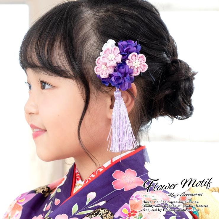 髪飾り 紫系 パープル | BiSOU | 詳細画像1
