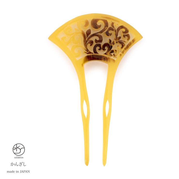 エレガントなバチ型簪 | 詳細画像