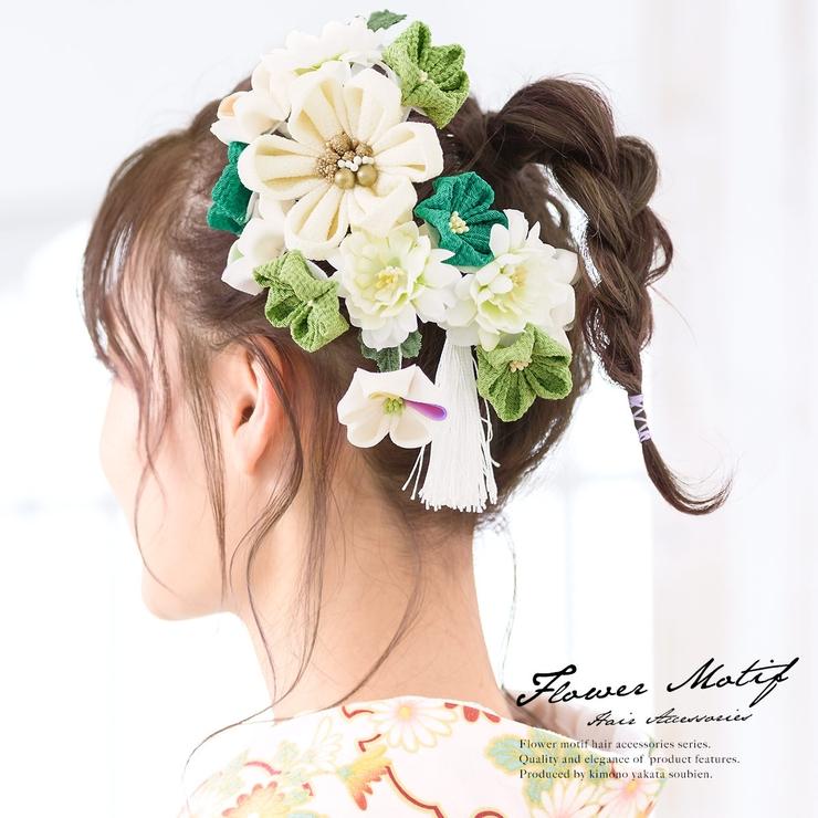 成人式にオススメなつまみ細工の髪飾り | 詳細画像