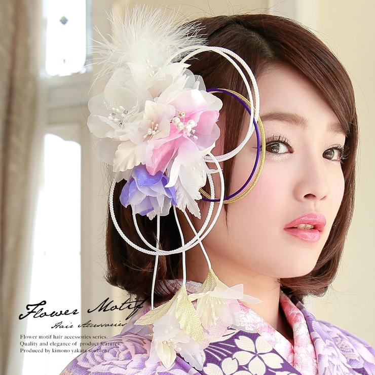 成人式の振袖・や卒業式の袴にオススメ、髪飾り   詳細画像