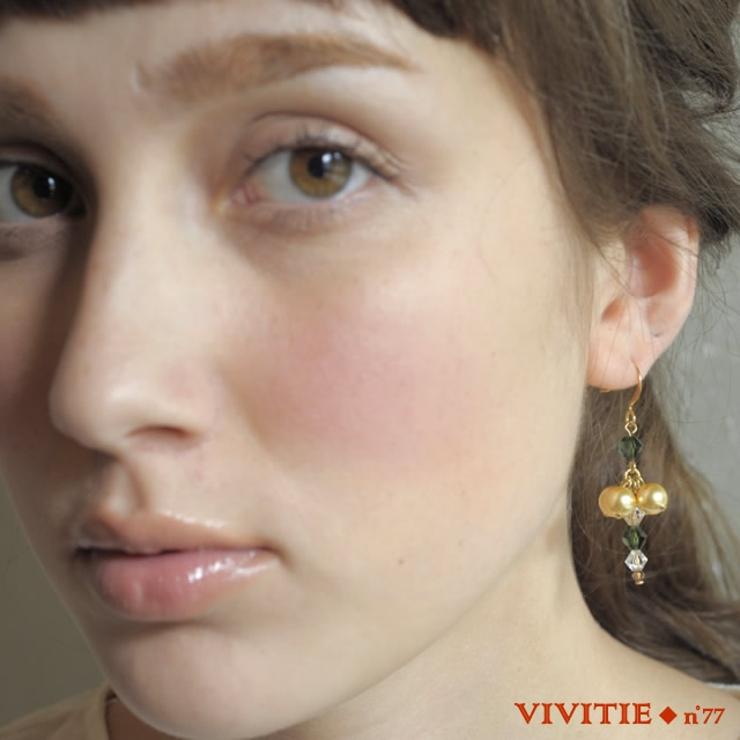 YUNIの手がける手作りアクセ「Vivitie」fairyピアス   詳細画像