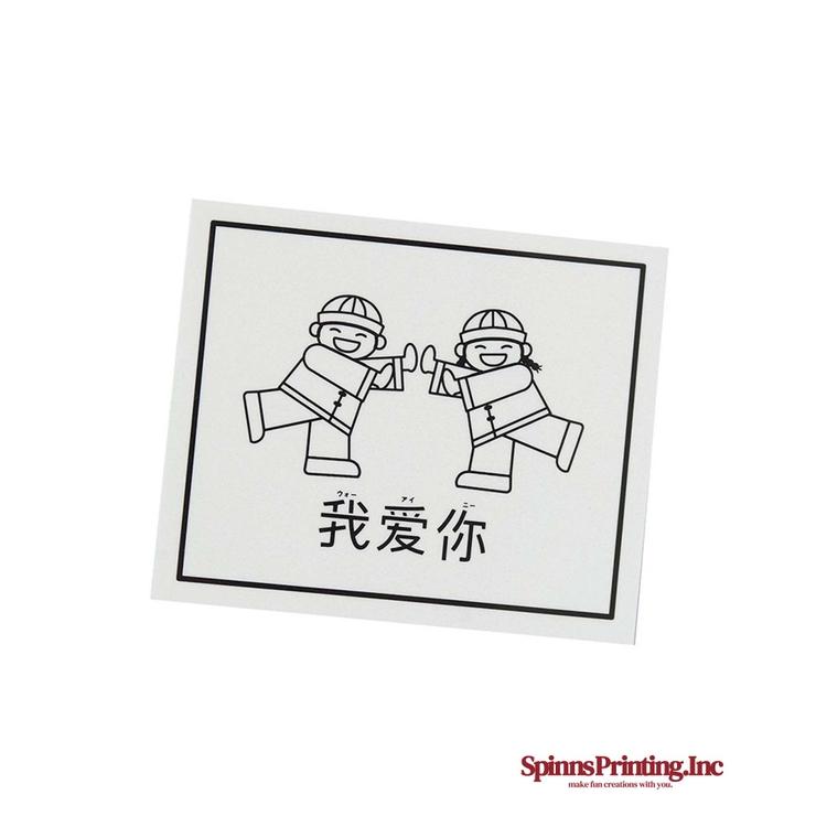 KIDSステッカー   SPINNS   詳細画像1
