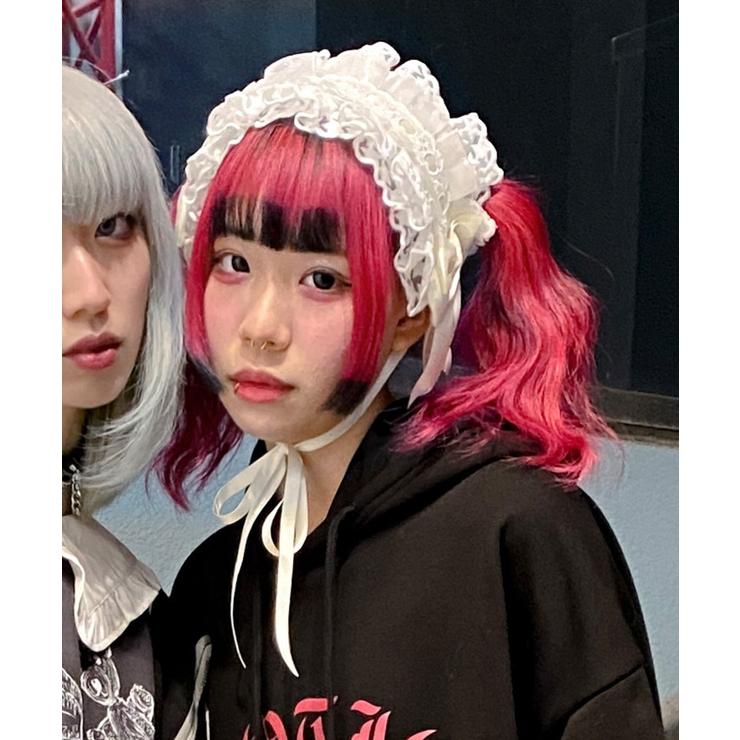 ヘッドドレス オーガンジー ホワイト   SPINNS   詳細画像1