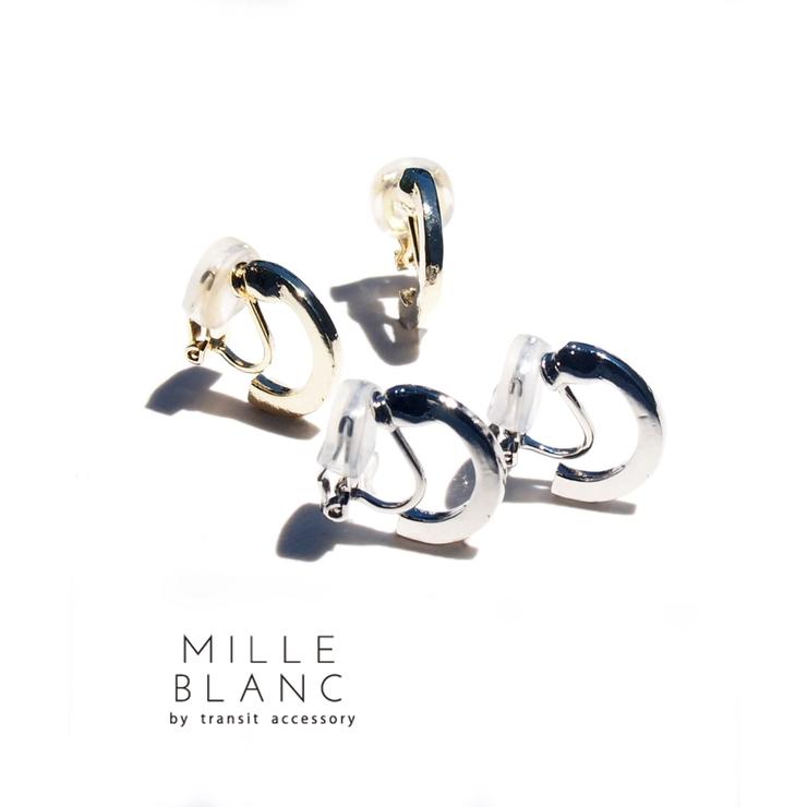 mille blanc イヤリング | TRANSIT ACCSESSORY  | 詳細画像1